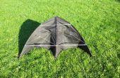 Construire un cerf-volant delta d'un parapluie