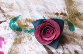Faire une Rose en cuir