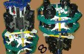 Octopanagraphic : Multi caméra panoramique rig