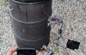 Gazouille, Wireless, régulateur de température de fumeur de tambour laid (UDS) utilisant Android