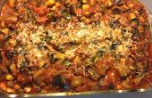 Repas frugal : Cannellonis végétariens