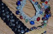 Crocheter les perles Bracelet