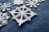 Flocons de neige bricolage Hama