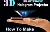 Comment faire le Smartphone 3D hologramme projecteur (simple)