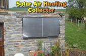 Collecteur de chauffage solaire de l'Air pour notre maison de Pierre Build jardin