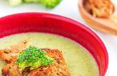 Brocolis crémeux & soupe de céleri