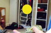 Balle de ping pong en lévitation