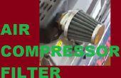 Filtre compresseur d'air