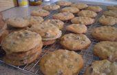 Biscuits aux brisures de chocolat aux noisettes