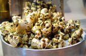 PopKale - comment faire le pop-corn assaisonné avec huile de truffe infusé crumbles chip kale