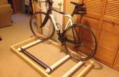 Vélo d'intérieur rouleau