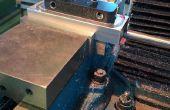 Tenue de travail : petites pièces sur une fixation à vis pour CNC ou manuel d'opérations de fraisage