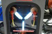 Sonnette de porte de condensateur à l'aide d'Intel Edison de flux