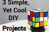 3 projets de bricolage simples, encore frais (P1)
