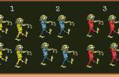 Jeu de tir de Zombie - jeux pour les professeurs d'anglais (ESL) et les Parties