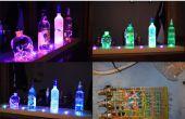 Arduino alimenté RGB LED Vodka plateau
