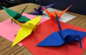 Origami - grue de paix