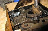 Nettoyer et réparer une serrure de mortaise Antique
