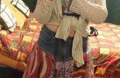 Comment faire une jupe de foulard upcycled