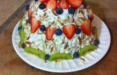 Gâteau fruité pastèque