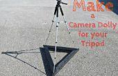 Faire un chariot de caméra pour votre trépied