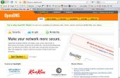 Changin vos serveurs DNS d'openDNS