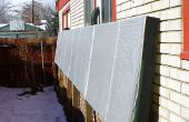 DIY Solar Air radiateur boîtes