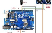 Comment Interface capteur à ultrasons (HCSR04) à l'arduino uno