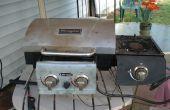 Comment modifier un grill camping avec brûleur latéral
