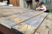 Hangar de rampe - comment construire une rampe de hangar de jardin robuste