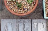 Art de jardin pour le printemps