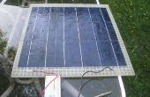 Panneau solaire léger (chargeur de batterie 12V)