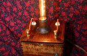 Vintage lampe Steampunk