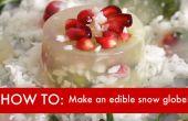 BRICOLAGE vidéo : Comment faire une boule à neige comestible