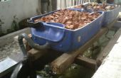Bon marché et les petites aquaponique Auto Siphon (économie de l'espace Growbed)