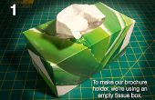 DIY : Effectuez vos propres porte-brochures dans une zone de tissu
