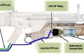 Airsoft Rapid Fire Grenade Launcher Mod