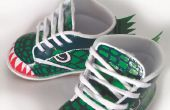 Chaussures bébé dinosaure bricolage