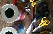 Faire un mortier de balle de tennis de Pringles tubes
