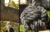 Swing avec poing de singe de corde