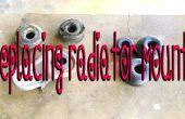 Remplacement radiateur Monte.