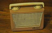 Comment faire revivre une radio portable première génération olympique 447