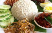 NASI LEMAK (riz au lait de coco)