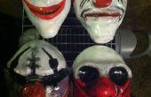 Masques d'Halloween sur salaire