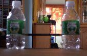 Bouteille d'eau papier poteau de but de Football