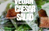 Comment faire la salade César Vegan