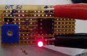 Détecteur de ligne blanche pour ROBOT SUMO