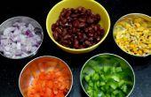 Salade de haricots noirs facile