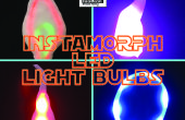 Lustre LED ampoules de Instamorph