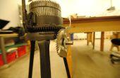 Les Vandales cassé la poignée - Gearhart Tricot Machine à réparer avec les Lasers